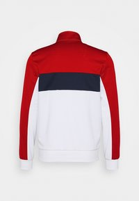 Lacoste Sport - TENNIS JACKET - Träningsjacka - ruby/white/navy blue/white - 8
