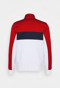 Lacoste Sport - TENNIS JACKET - Training jacket - ruby/white/navy blue/white - 8