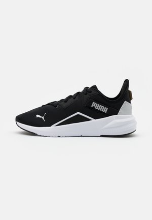 PLATINUM - Trainings-/Fitnessschuh - black/white/metallic silver
