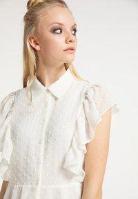 myMo ROCKS - Shirt dress - weiss - 3