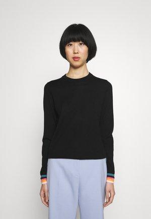 JUMPER - Stickad tröja - black