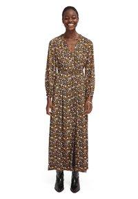 Scotch & Soda - PRINTED WRAPOVER DRESS - Maxi šaty - combo - 0