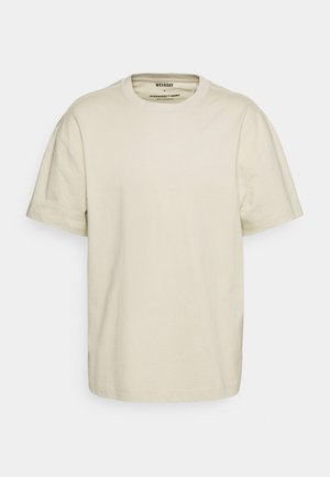 OVERSIZED  - Pamata T-krekls - beige
