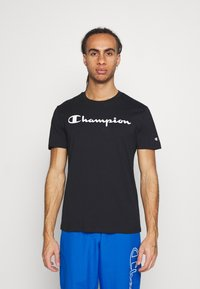 Champion - CREW NECK 2 PACK - Triko s potiskem - black - 3
