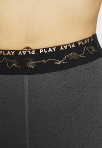 ONLY PLAY Tall - ONPJYNX TRAINING TIGHTS  - Leggings - dark grey melange/black/white gold - 6
