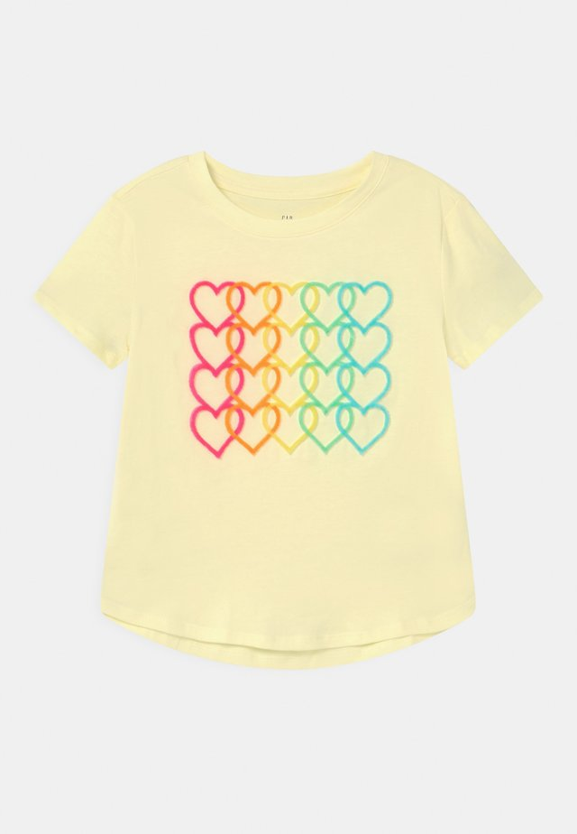 GIRL INTERACTIVE  - Print T-shirt - new honeysuckle