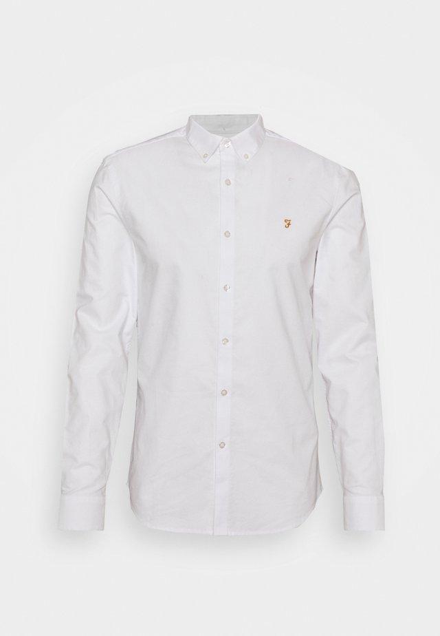 BREWER - Shirt - white