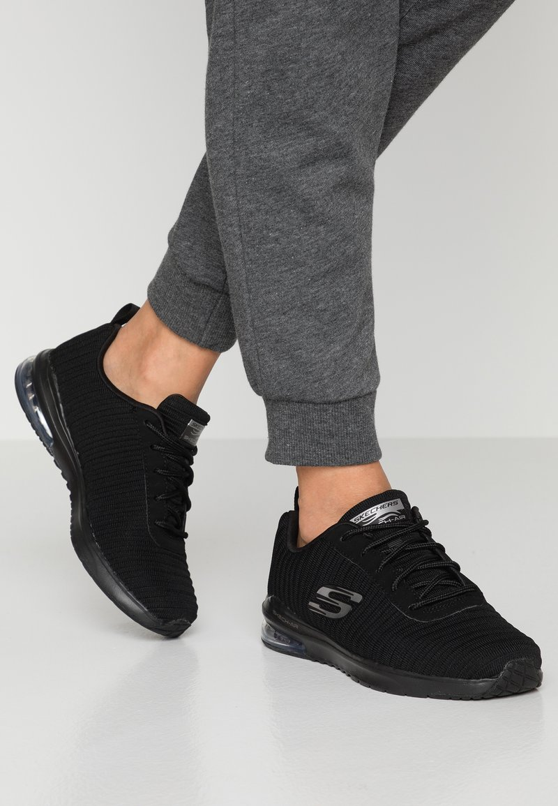 Skechers Sport - SKECH AIR - Trainers - black