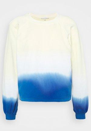 CROPPED RAGLAN - Sweatshirt - yellow blue dip dye