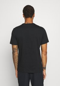 Jordan - M J PHOTO  - Print T-shirt - black