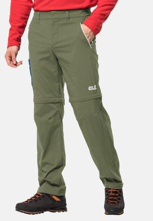 Outdoor trousers - light moss