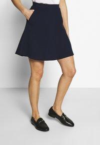 Esprit - SKIRT - A-line skirt - navy - 0