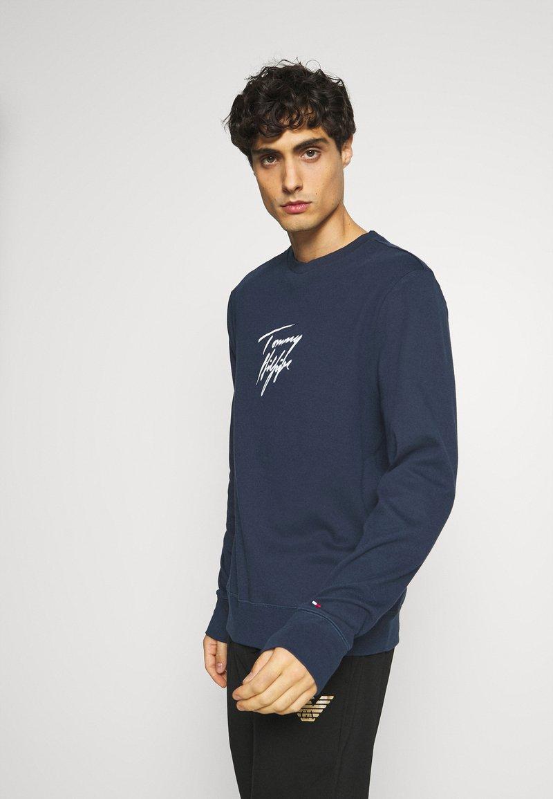 Tommy Hilfiger - TRACK - Pyžamový top - blue