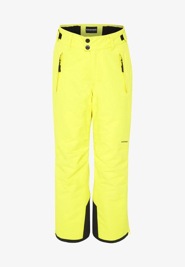 Snow pants - yellow