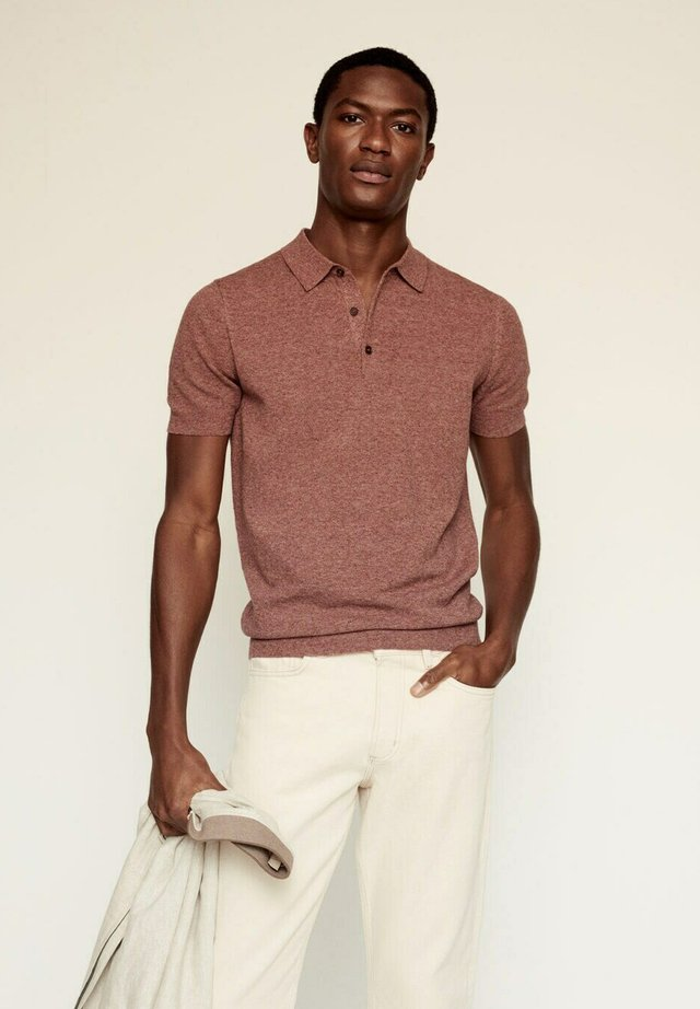 ANDREW - Polo shirt - red
