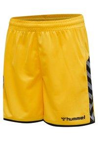 Hummel - HMLAUTHENTIC  - Sports shorts - sports yellow/black - 2