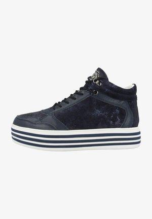 Sneakers hoog - ocean white