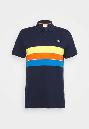 RAINBOW STRIPES - Piké - bleu marine/bleu/rouge/jaune/blanc
