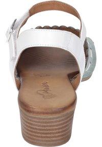 Piazza - Sandals - aqua/weiß/sand - 2