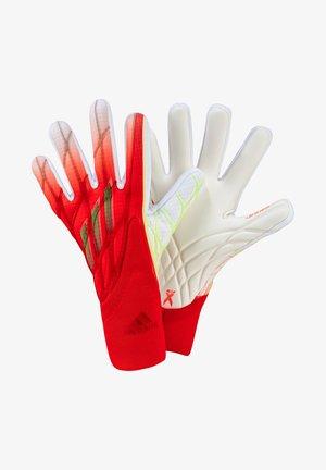 Goalkeeping gloves - rotweissgelb
