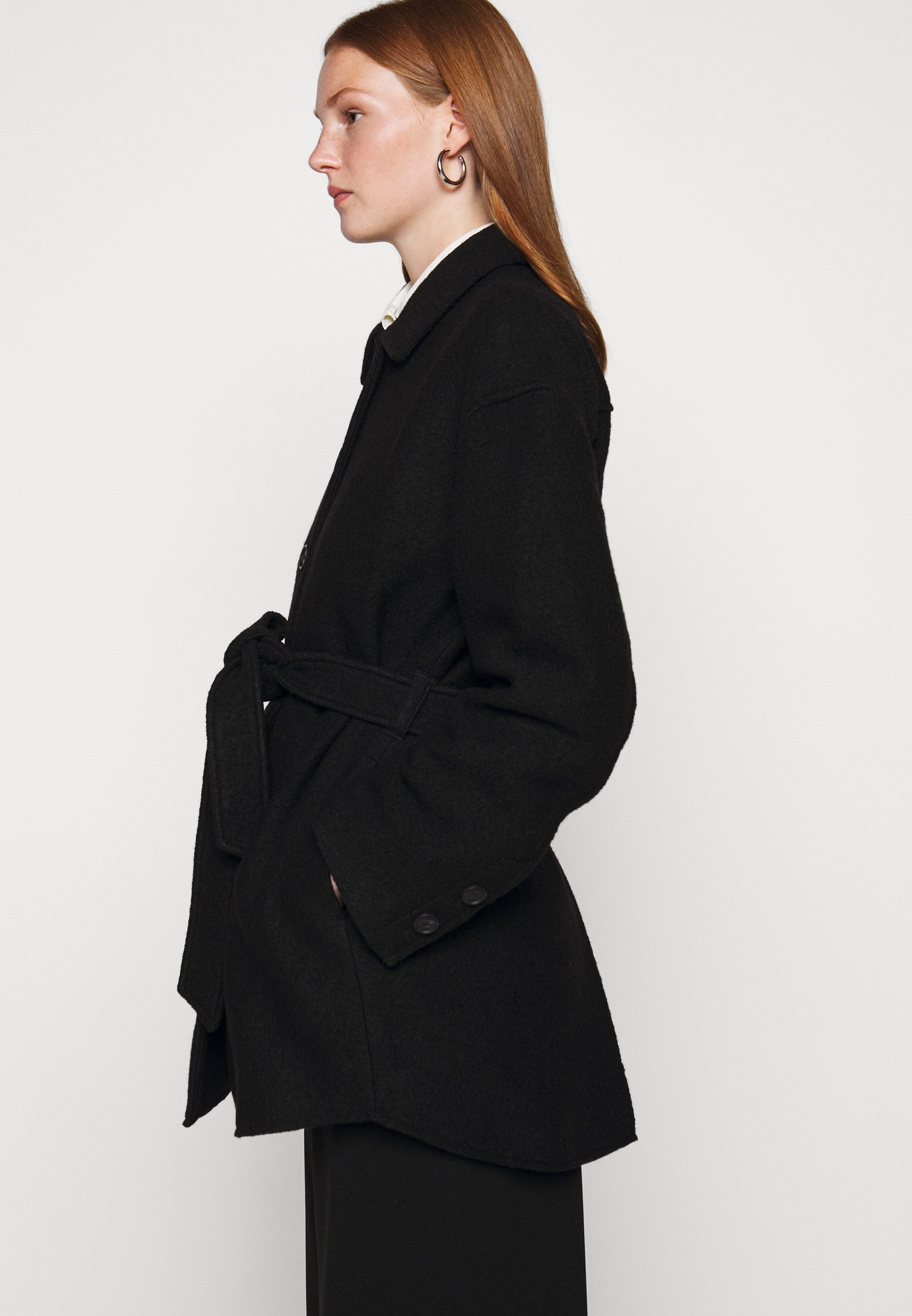 LIMA COAT Halflange jas black