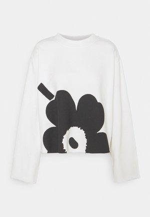 KOITTAA UNIKKO - Sweatshirt - white/dark grey