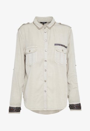 ETHIO - Button-down blouse - beige primaveral