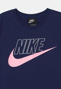 Nike Sportswear - FUTURA  - Jersey dress - blue void/arctic punch - 2