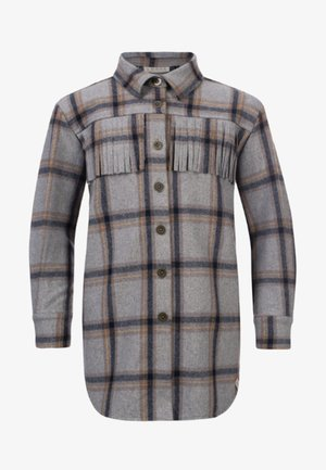 Overhemdblouse - grijs