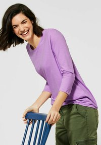 Cecil - Long sleeved top - lila - 2