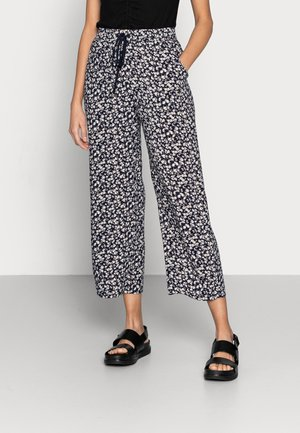 TROUSERS BELLA CROPPED - Pantalones - navy
