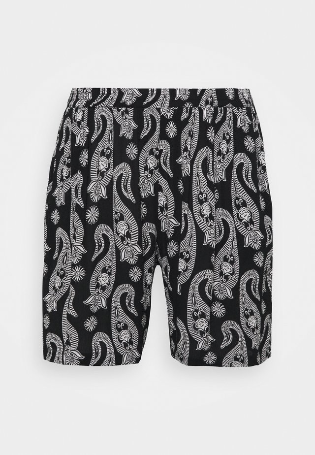 PASSA AMI  - Shorts - black/chalk