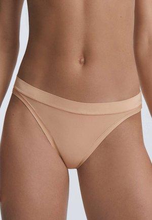 Thong - beige