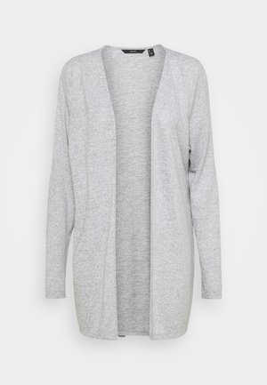 VMMOLLY CARDIGAN TALL - Cardigan - light grey melange