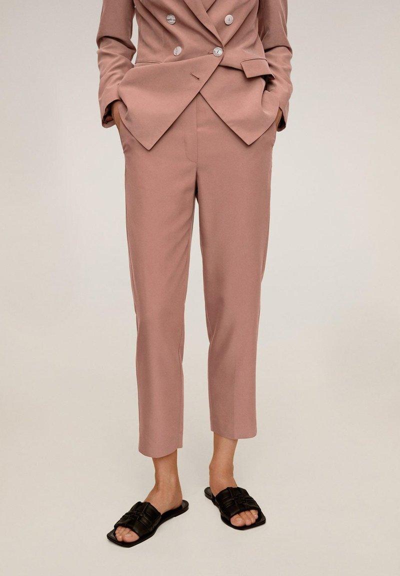 Mango - Pantaloni - rosa
