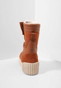 Pajar - ROYA - Zimní obuv - cognac - 5