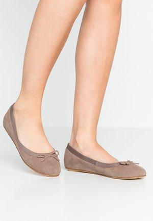 ANNELIE - Ballet pumps - taupe