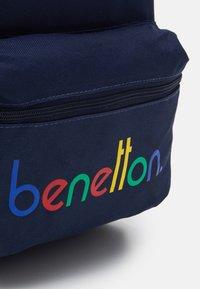 Benetton - KNAPSACK - Rucksack - dark blue - 3