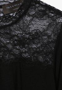 Rosemunde - T-SHIRT LS - Top sdlouhým rukávem - black - 3