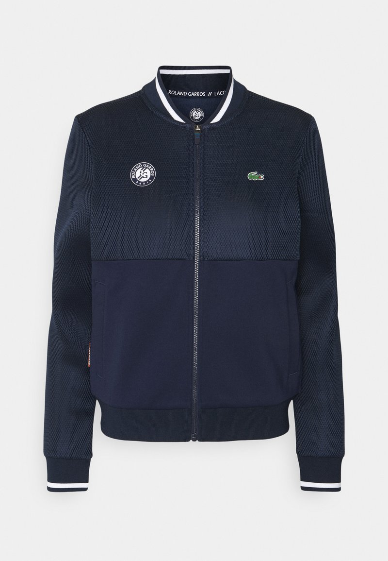 Lacoste Sport - TENNIS JACKET - Training jacket - navy blue/white