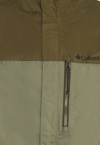 Columbia - POURING ADVENTURE JACKET - Hardshell jacket - stone green/new olive - 5