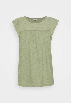 MIX - Print T-shirt - light khaki