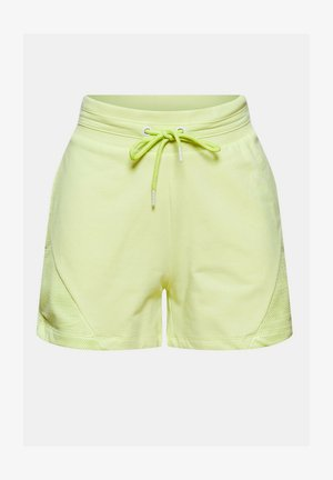 Sports shorts - lime yellow
