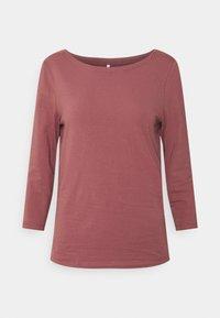 ONLY - ONLFIFI BOATNECK BOX  - Long sleeved top - rose brown - 3