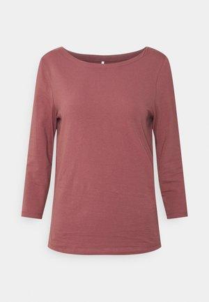ONLFIFI BOATNECK BOX - Camiseta de manga larga - rose brown