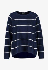Gerry Weber - Sweatshirt - blau/ecru/weiss ringel - 3