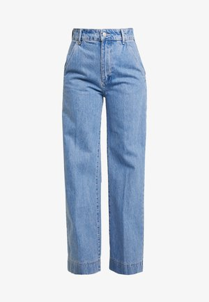 MAGAZINE PANT - Flared Jeans - light blue denim