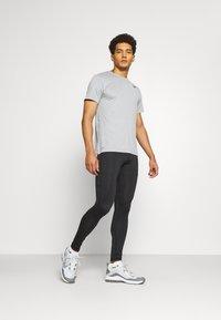 4F - Men's training leggings - Leggings - black - 1