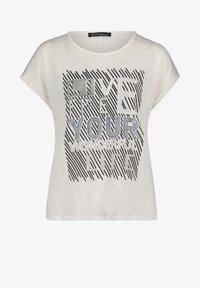 Betty Barclay - Print T-shirt - weiß/dunkelblau - 3