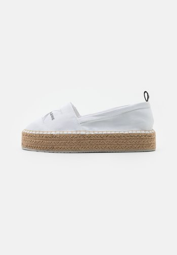 PRINTED  - Espadrilles - bright white